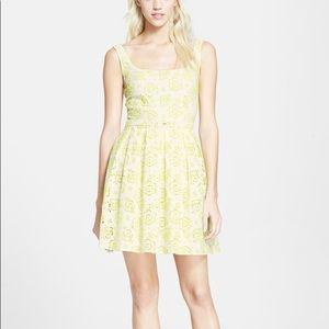 Christopher Kane Neon Eyelet Lace Mini Dress 4